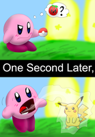 How did a pokeball get there? by SkippyWoodFood