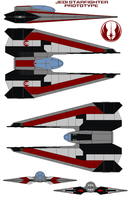 JEDI Starfighter Prototype by bagera3005