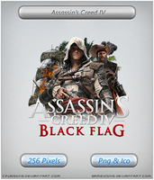 Assassins Creed IV Black Flag - Icon 2 by Crussong