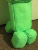 Creeper Plush by Me! by Britterzbee