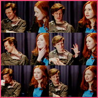 Matt Smith and Karen Gillan by alitaz