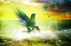 Manipulation - An angel of the sea by jemmy2000