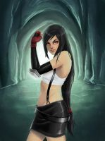 Tifa Lockhart by lazpunk