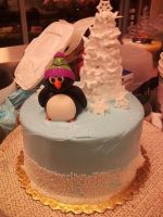 Penguin by TCCakes