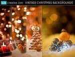 Vintage Christmas card backgrounds - stock photos by 123creative