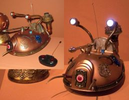 Steampunk DRD by xjustinian