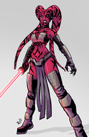 Darth Talon by EryckWebbGraphics
