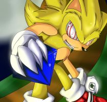 Fleetway sonic. by rouge2t7