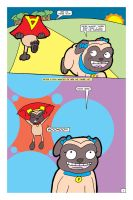 Awesome Pug Saves the Day!  Page 1 by LapisRabbitComics