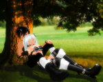 -Resting- William and Kaii by TehPuroisen