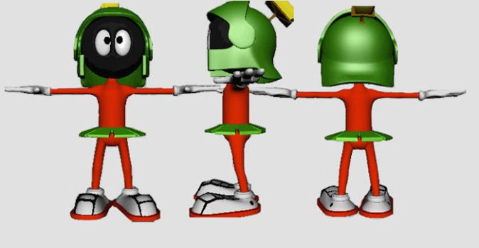 MARVIN THE MARTIAN by hammyevan