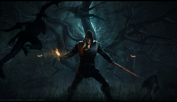Turn Undead | Witcher by TakeOFFFLy
