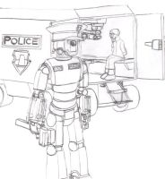 Police Robot by Imperator-Zor