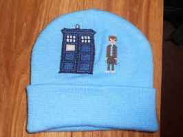 Tenth Doctor Hat by Joce-in-Stitches