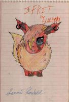 Ifrit the Flareon by Ender-Sammi