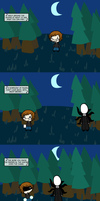 The Slender Song by Metroid-Life