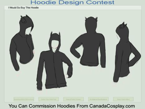 Hoodie Contest- Guy Dark Angel by sabakugaara