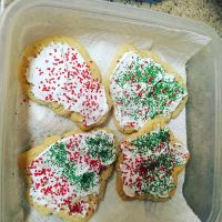 I made Christmas cookies with my friend !! by tp32