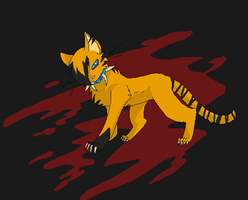 blood and contest kinda by reaper-neko