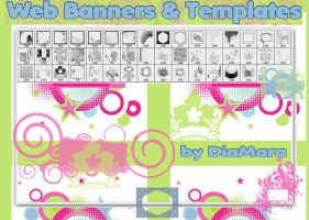 Web Banners and Templates by Diamara