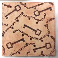Key and Chain tile by twinibird