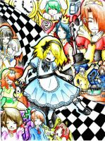 Alice In Wonderland - OC Style by animephreak143