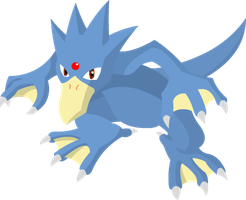 Golduck! by psywill