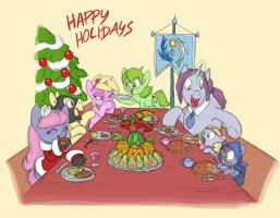 hearth's warming eve by Siansaar