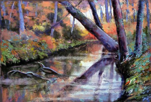 autumn in  Normandy 2 (soft pastel) by PatrickHENRY