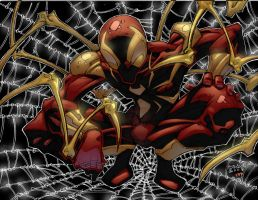 iron-spider-man by cbuencamino