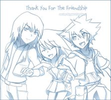 Thanks For The Friendship by Slypht
