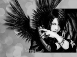 Wallpaper Aoi-theGazettE-3 by DianneDejarjayes