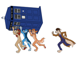 The Furries have the Phonebox 10th variation by sweentastic