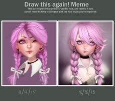 Before and After Meme by toycake