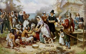 The first Thanksgiving by sweetchick141