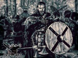 Vikings series Rollo by thecasperart
