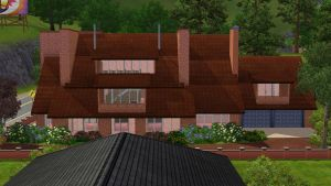 Sims 3 Modern family home by RamboRocky