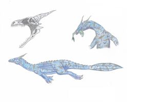 Thassolodraco archeoptera by DragonEvolution