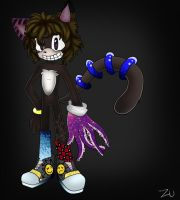 Wendell the panter by ZombieUboa