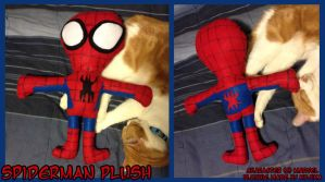 Spiderman Plush by kojika