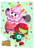 Animal Crossing new Leaf fanart by Wenart