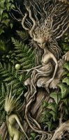 Hedge-Dryad by Markelli