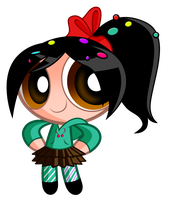 Puffed Vanellope by Jerimin19