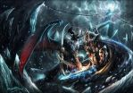 Arthas Vs Illidan by trash1999