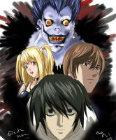 Death Note by Evymonster9406