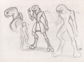 female sangheili by fakefrogs