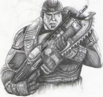 Gears of war 2-Marcus Fenix by jpizzle6298