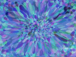 Fuzzy-Colored Whirlpool by supersandra