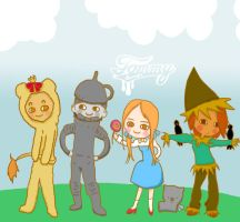 the wizard of oz by LouBerry