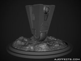 Day 10: Claptrap by ajeffects